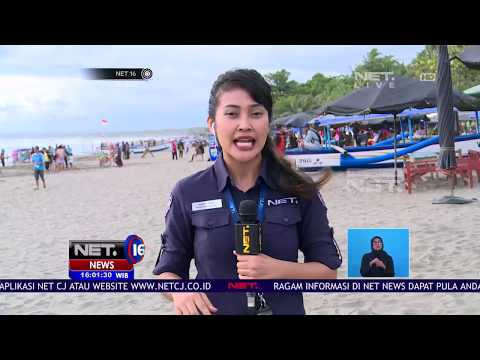 Suasana Pantai Pangandaran Mulai Di Padati Pengunjung - NET 16