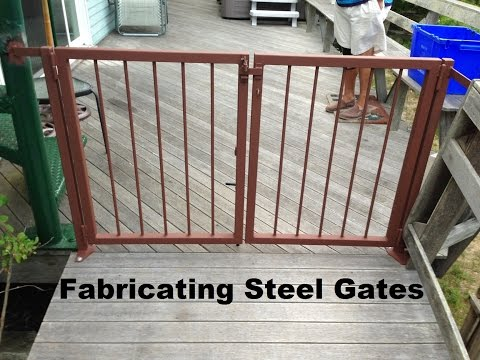 Fabricating Steel Gates