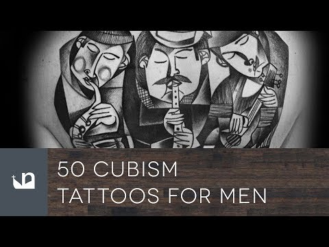 50 Cubism Tattoos For Men