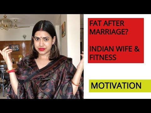 FAT / weight gain AFTER MARRIAGE? FITNESS MOTIVATION FOR Woman / wife | 1 Habit will change ur life