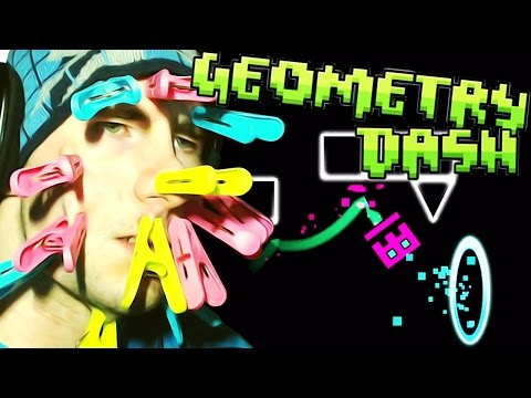 Geometry Dash [Steam] ~ FACE CLIP CHALLENGE! (Can't Let Go)