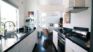 Gorgeous Tiny House - Living Room & Kitchen Walkthrough