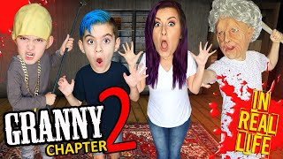 GRANNY Chapter 2 In Real Life (Slendrina Update) FUNhouse Family