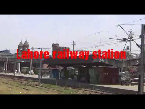 Lahore railway station beautiful !!!!! travel !!!!! Pakistan railway
