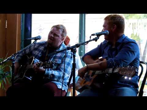 Josh Osborne and Shane McAnally singing