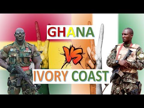 Ghana vs Ivory Coast Military Power & Economic Comparison 2020