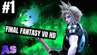 Final Fantasy VII HD Remaster Walkthrough #1 | Avidan Smith