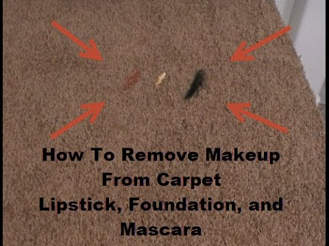 how to remove eyeshadow from carpet | www.resnooze.com