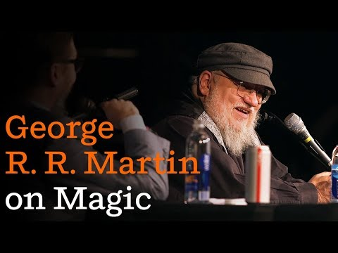 George R. R. Martin on FIRE & BLOOD, and magic in his books Mp3