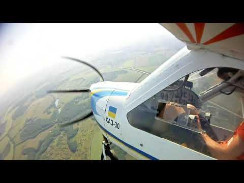 Полет на самолете ВИС в Харькове