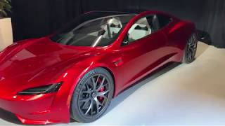 Tesla Roadster 2 Walk Through