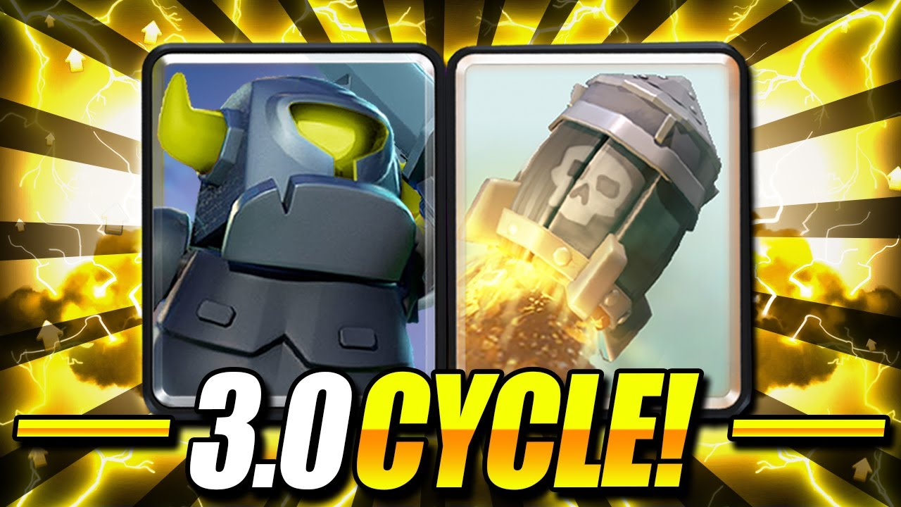 THIS ISN'T FAIR!! MINI PEKKA + ROCKET 3.0 CYCLE CAN'T BE COUNTERED!! - Clash Royale