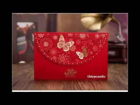 Tổng hợp những mẫu thiệp cưới đẹp nhất 2016 được cung cấp giá rẻ bởi thiệp cưới TC