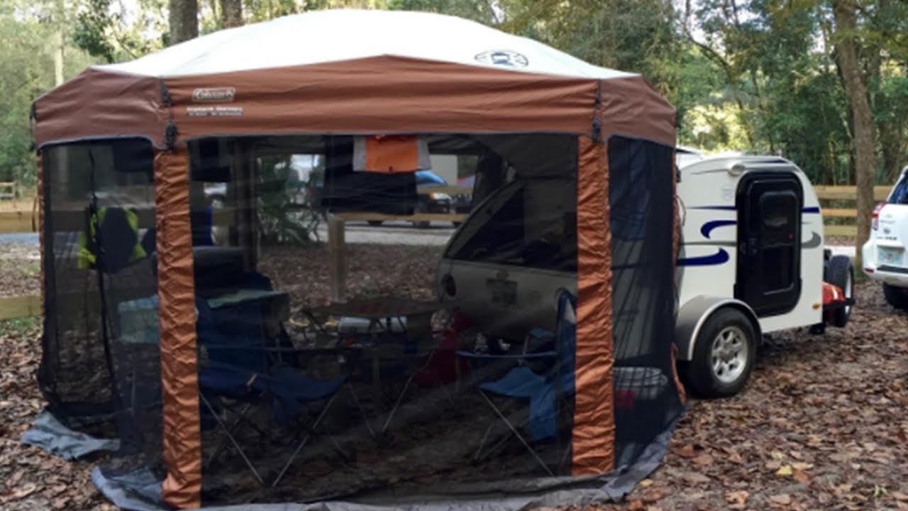 Coleman 12 X 10 Screened Canopy Tent Review Youtube