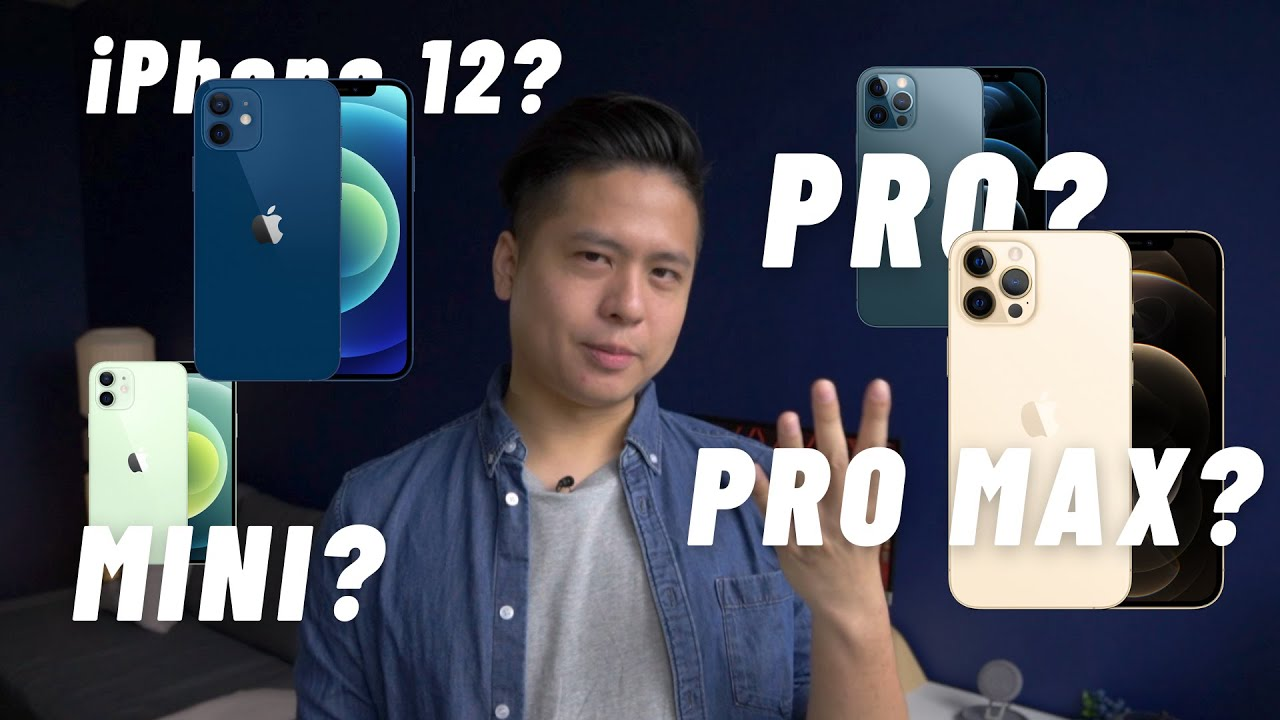 Download 【iPhone 12選購指南】 iPhone 12 Pro值唔值得買?大機定細機?咁多型號應該點揀先啱?🤔🤔🤔|On Paper #4|Anson Cheung