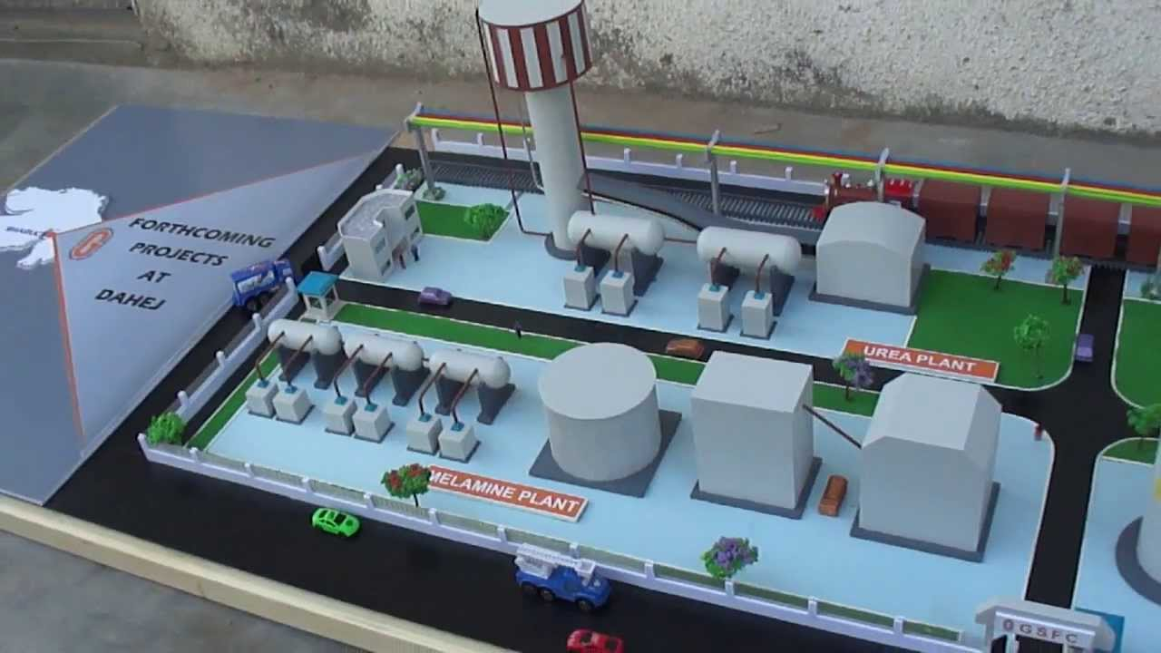 model of chemical plant