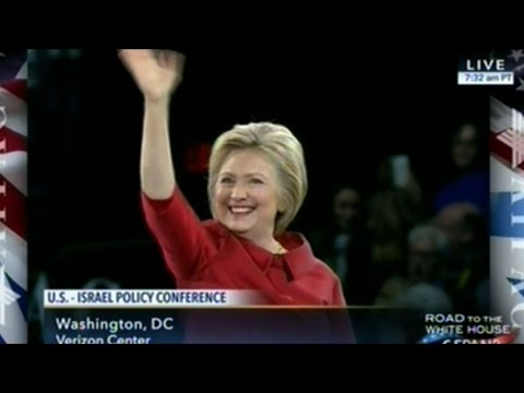 """ISRAEL'S SECURITY IS NON NEGOTIABLE!"" Hillary Clinton 2016 AIPAC Speech"