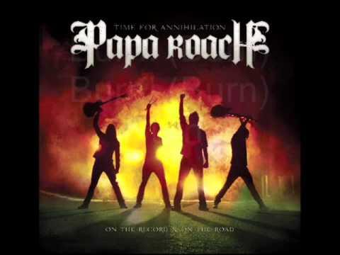 Papa Roach - Burn with Lyrics