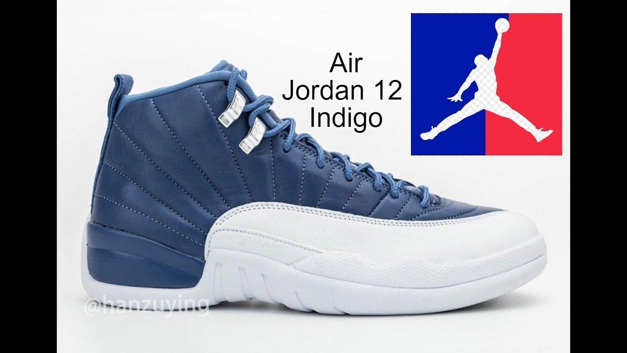 """Should you Cop or Drop???!!Air Jordan 12  """"Indigo"""" #nike.com"""