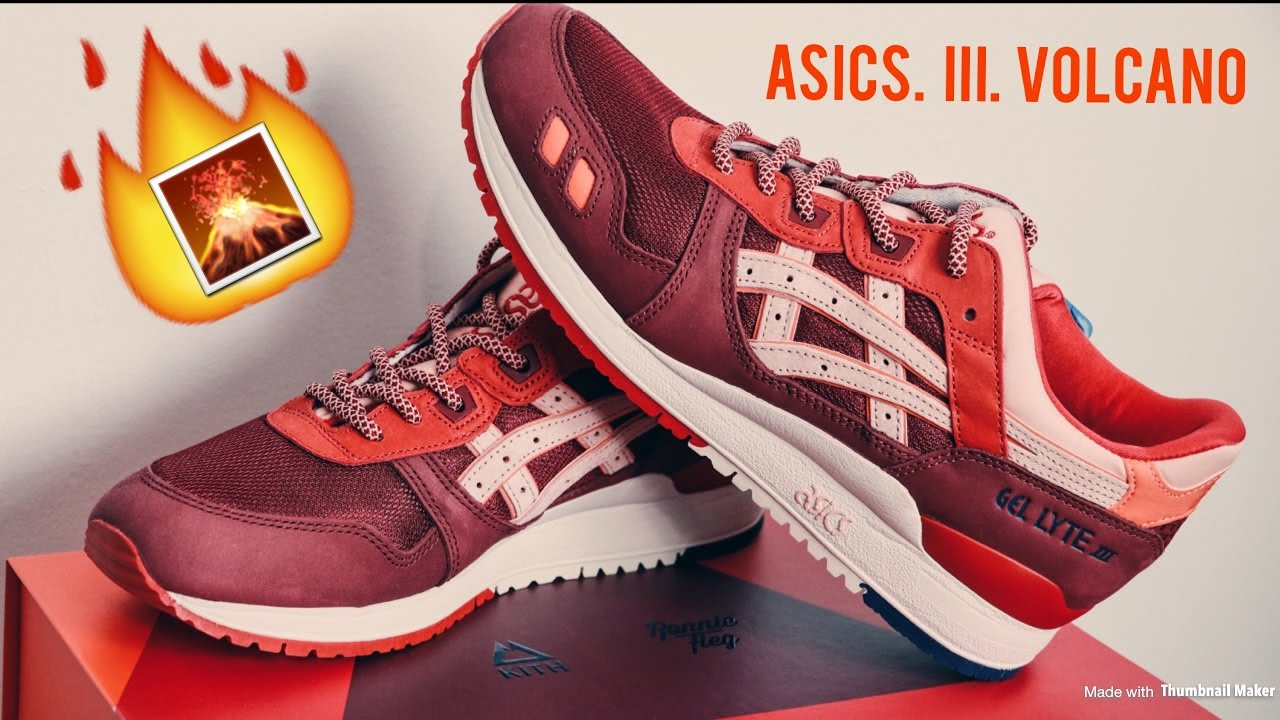 newest f72d4 be3f4 Ronnie Fieg Asics Gel-lyte III Volcano | Close up and Detailed Review | WOW  I GOT THEM!!!