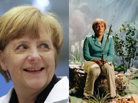 Angela Merkel reacts to Ruf mich Angela Music Video by Klemen Slakonja