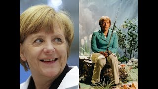 Angela Merkel Reacts To Ruf Mich Angela Music Video By Klemen Slakonja
