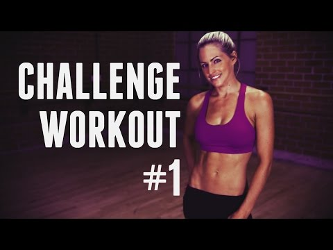 4 Week Challenge Workout - Total Body Workout to get you in Shape and Feeling Great