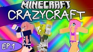 NEW GIRLFRIEND! | CrazyCraft w/ LDShadowLady | Ep. 1