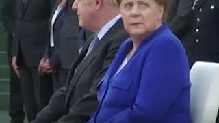 Boris Johnson Receives Boos Andamp Shouts Of And39liarand39 Andamp And39stop Brexitand39 During Meeting With Merkel