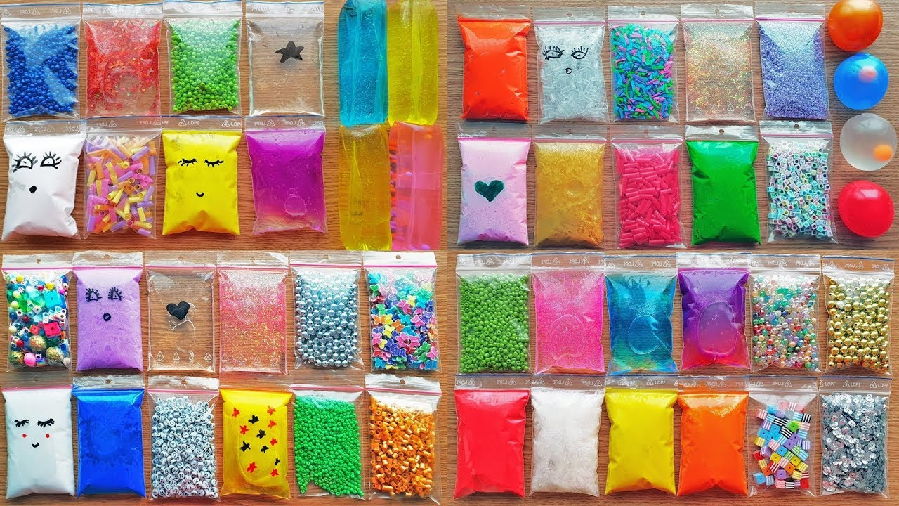 Download 1 Hour Slime Making with Bags - Izabela Stress