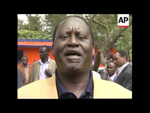 Opposition leader slams Kibaki after vote marred by controversy