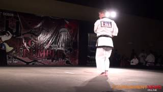 Jordan Frost Junior Korean Forms Grands at the Sin City Rumble 2014