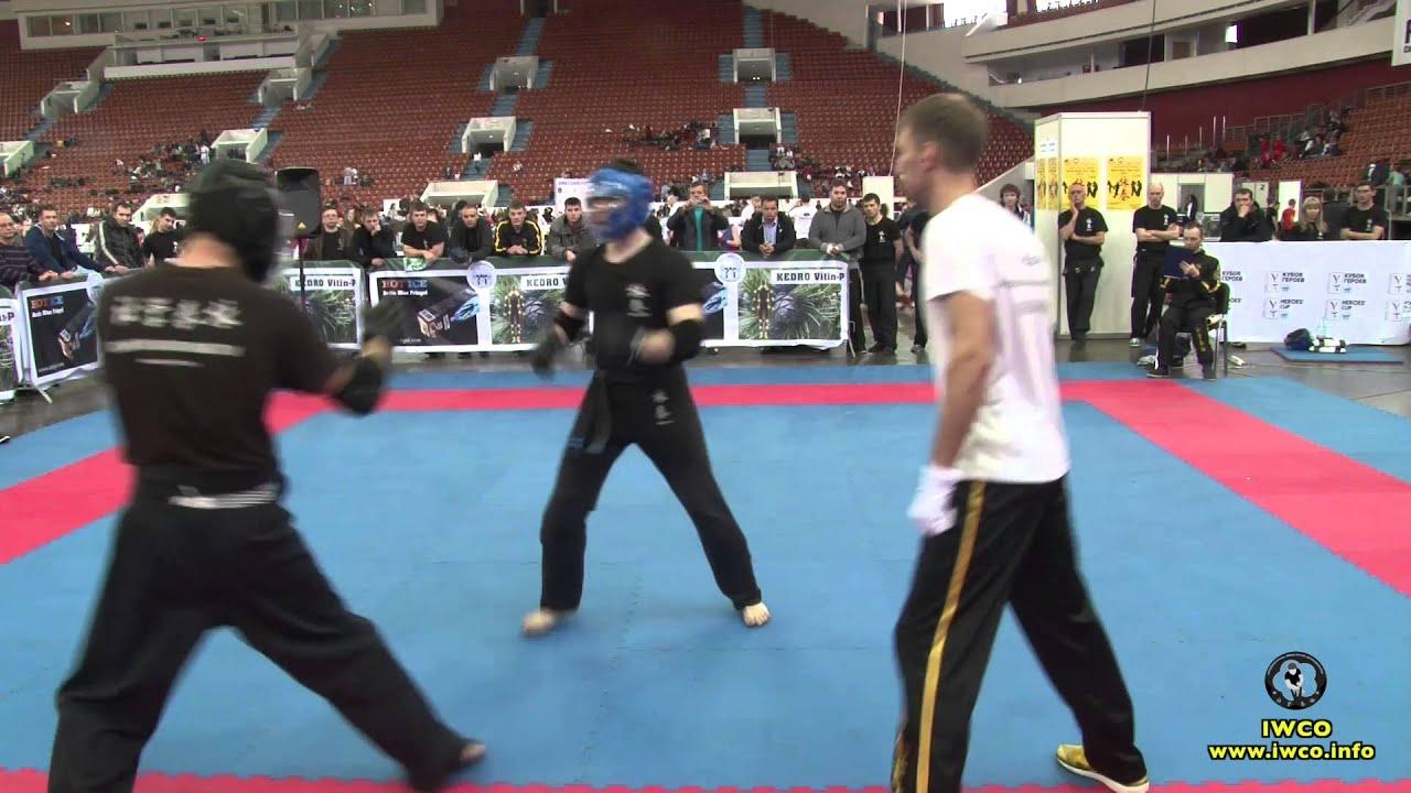 World Wing Chun Cup 2015 - Free fight (2)