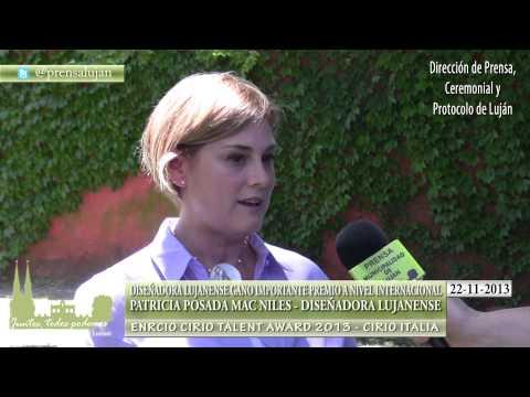 DISEÑADORA LUJANENSE GANO IMPORTANTE PREMIO A NIVEL INTERNACIONAL