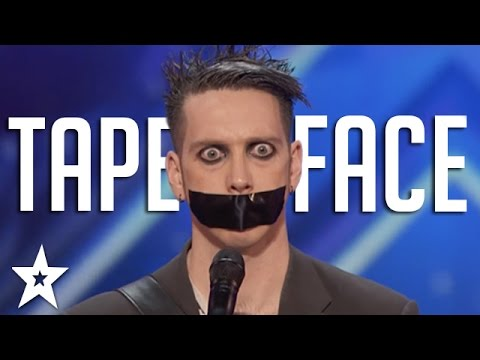 Tape Face Auditions & Performances | Americas Got Talent 2016 Finalist