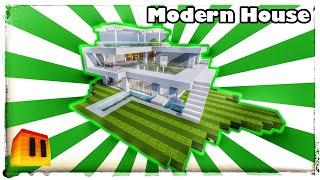 Minecraft Timelapse - Modern House (WORLD DOWNLOAD!)