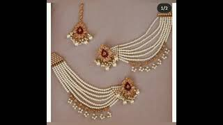 Wedding jewelry for beautiful girls /wedding and party beautiful collection