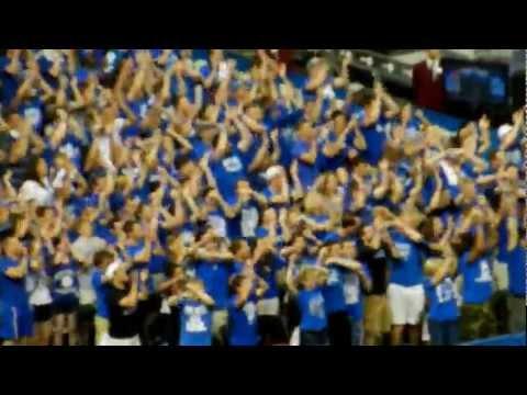 University of Kentucky Student Flashmob - 2012 NCAA Basketball Championship Game (UK v. KU)