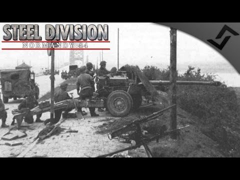 17pdr Hedgerows in Close Game 2v2 - Steel Division: Normandy 44 - Beta Gameplay