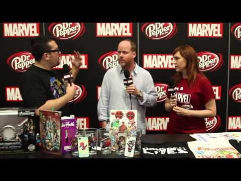 Joss Whedon on Marvel LIVE! at San Diego Comic-Con - EXCLUSIVE