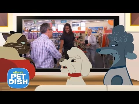 'Ellen's Pet Dish' with Michelle Obama