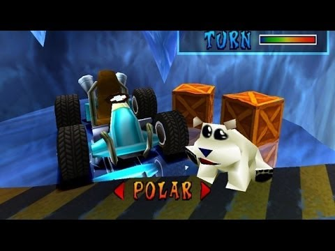 crash team racing playthrough polar bear     youtube
