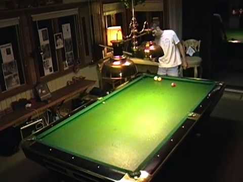 Playing 3 Cushion Billiards On Gold Crown With Carom Inserts And Synsurf