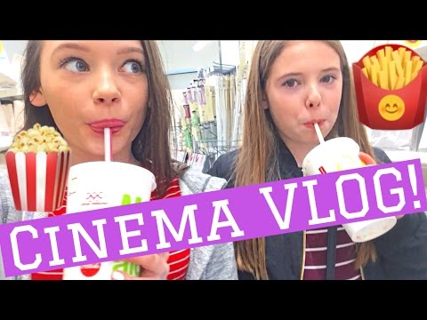 Cinema and sleepover VLOG!!