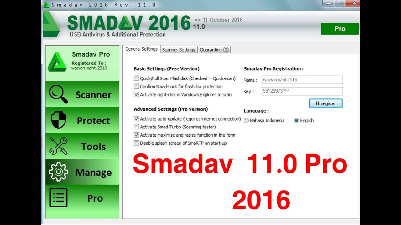 Smadav Pro 2016 Key Archives