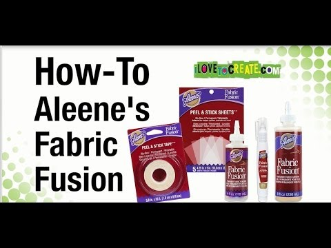 How-To Aleene's Fabric Fusion Permanent Fabric Adhesive