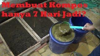 Cara Extrem Membuat Kompos Dari Kohe Sapi 7 Hari Jadi