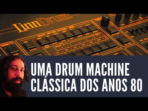 Drum Machine Clássica dos anos 80