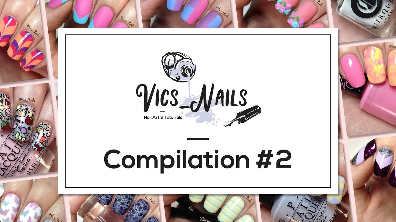 Compilation 2 | Cute and Easy Nail Art Designs - YouTube