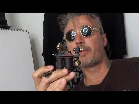 COILS Vs ROTARIES TATTOO MACHINES ,  Part 1   With NINJA Cris Gherman Aka NinjaCG